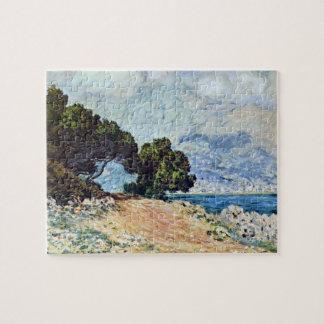 Menton Seen from Cap Martin by Claude Monet Jigsaw Puzzle