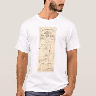 """Menu for Steamer """"Golden Age"""" (1276A) T-Shirt"""