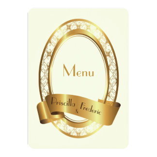 menu wedding,menu meeting,great gatsby; medaillion card