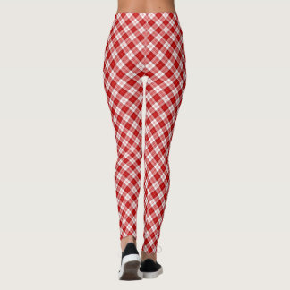 Menzies tartan plaid leggings