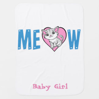 Meow Baby Blanket