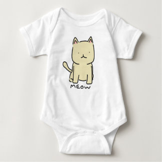 Meow Baby Jersey Bodysuit