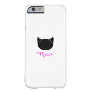 Meow Barely There iPhone 6 Case