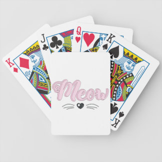 Meow Bicycle Playing Cards