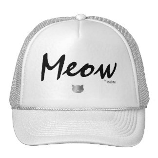 Meow by PhotoCatz Cap