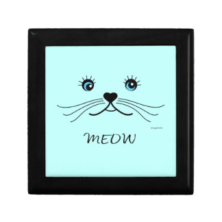 MEOW-Cat Face Graphic Cool Gift Box