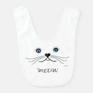 MEOW-Cat-Shirt Bib
