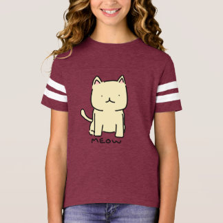 Meow Girls' Football Shirt