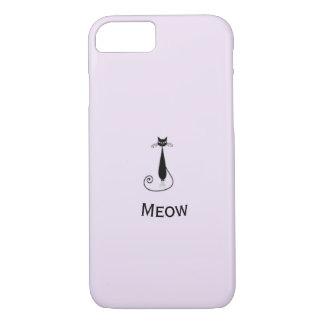 Meow gorgeous cat design - simply unique iPhone 8/7 case