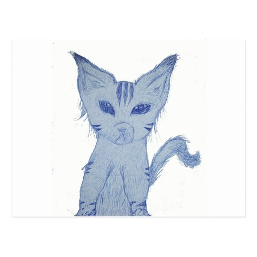 Meow Kitten Postcard