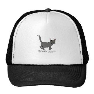 MEOW MEOW TRUCKER HAT