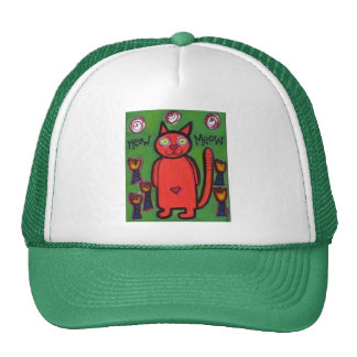 meow meow Hat