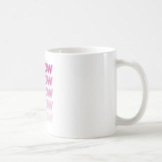 meow meow meow meow coffee mug