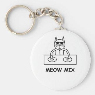Meow Mix Keychain