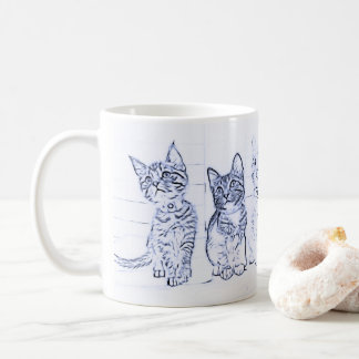 Meow Morning Kittens Coffee Mug
