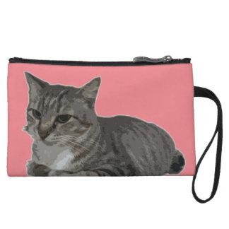meow! pet me! purse wristlet purses