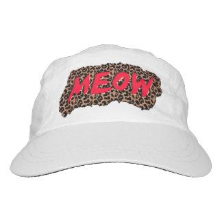 Meow Print Hat