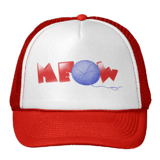 Meow (red) cap