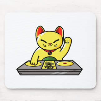 Meow-sician Mouse Pad