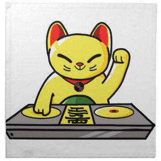 Meow-sician Napkin