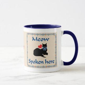 Meow Spoken Here Mug