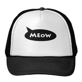 meow stuff cap
