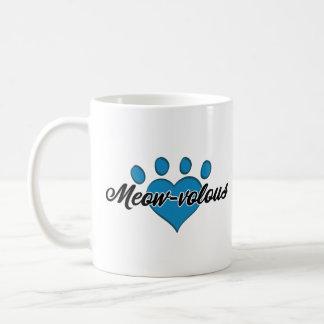Meow-velous White Kitty Coffee Mug