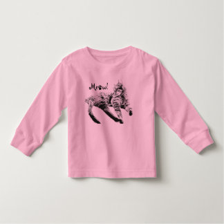 Meow Wear for Kids Toddler T-Shirt