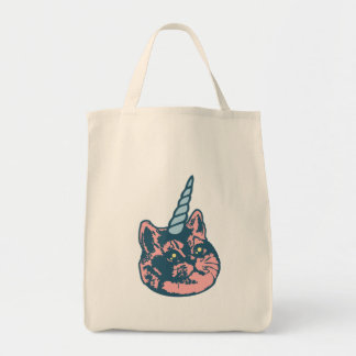 Meowgical Kittycorn Heavy Breathing Cat Meme Tote Bag