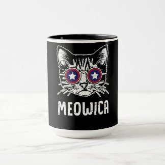 Meowica Fourth of July Mug