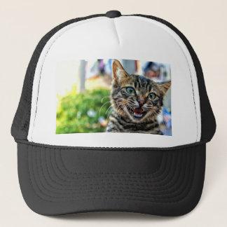 Meowing Kitten Trucker Hat
