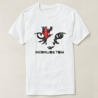 """Meowjor Tom"" Cat Graphic Tee"