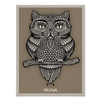 Meowl Poster