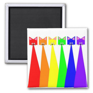 Meows X 6 Magnet