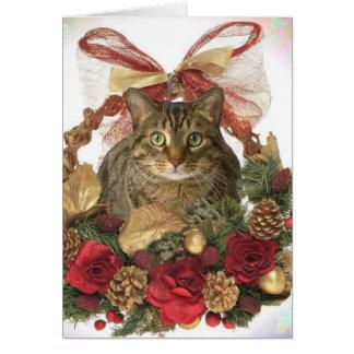 Meowy Christmas! Card