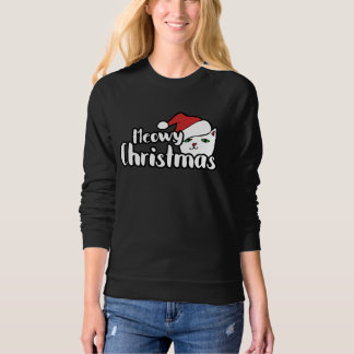 Meowy Christmas Cat Sweatshirt