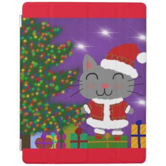 Meowy Christmas iPad Cover