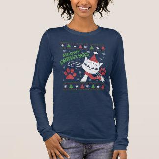 Meowy Christmas Long Sleeve T-Shirt