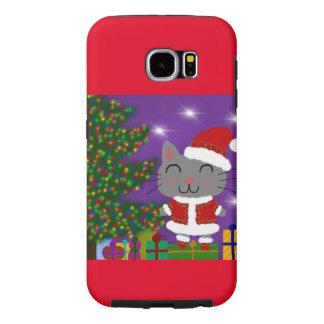 Meowy Christmas Samsung Galaxy S6 Cases