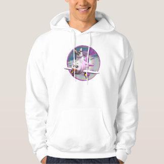 Meowzalina Flying High Sweatshirt