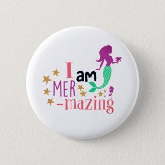 Mer-Mazing 6 Cm Round Badge