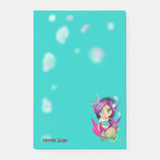 Mer Turtle Bella Post-it Notes