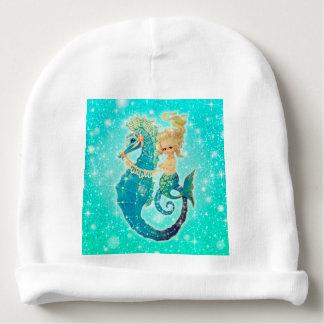 Merbaby Baby Girl Mermaid Beanie Baby Beanie