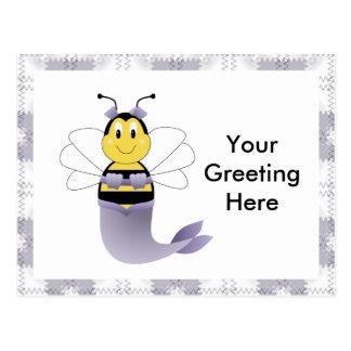 MerBee Bumble Bee Postcard