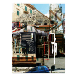 mercado postcard