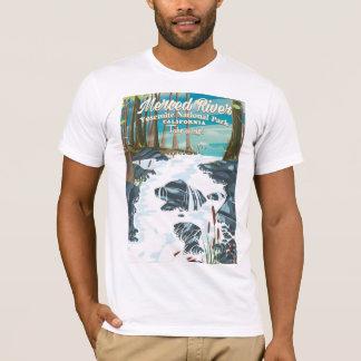 Merced River California travel poster T-Shirt