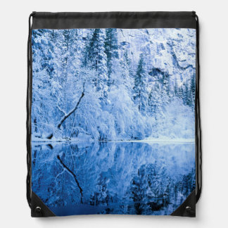 Merced River | Yosemite National Park, CA Drawstring Bag