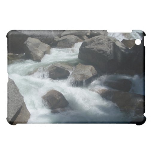 Merced River Yosemite Rocks iPad Mini Case