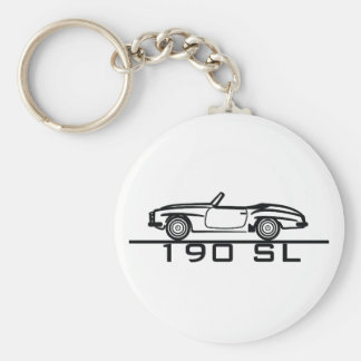 Mercedes 190 SL Type 121 Key Ring