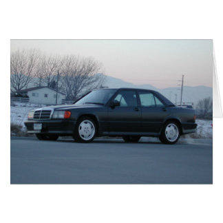 Mercedes-Benz 190 E 2.3-16 Card